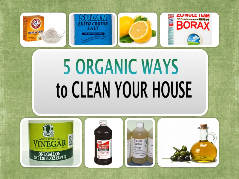 5 Natural Ways To Clean Your House